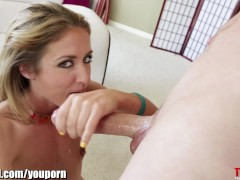 THROATED HARD DT!!! Sheena Shaw's face is fucked!
