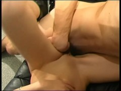 This little babe fucked by my huge cock - Telsev