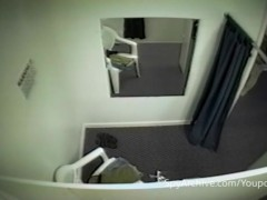 Hidden camera in fitting room