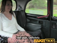 FakeTaxi Deepthroat gagging down to the balls