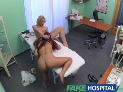 FakeHospital Both doctor and nurse give new patient thorough sexual checkover