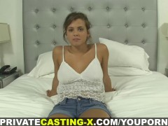Private Casting X - Bigtitted teen loved my dick