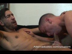 Young Stud Fucks Skater With a Pussy
