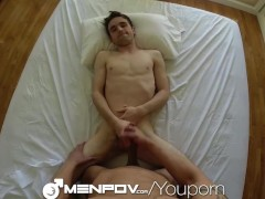 MenPOV Friend surprises his mate with a good fuck