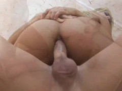 Horny Blonde's Ass Gets Drilled - CRITICAL X