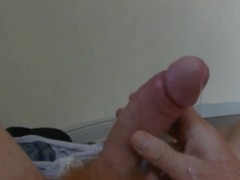 Mein vierundfünfzigster Orgasmus - Orgasm 54th - Precumming - I need to wank, I need to cum, and I do a little bit for first  - Ich liebe die Erregung