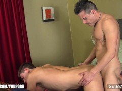 Lusty gay gets ass licked and pounded