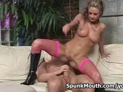 Porno Hottie Amy Reid Fucks and Sucks Big Cock For a Nice Spunkmouth