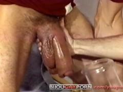 Incredible Penis Pumping & Self-Sucking - Vintage Gay Porn (1985)