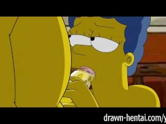 Simpsons Porn - Marge and Artie after...
