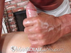 Muscle Guy Tyler Saint fucks Presley Wrights Tight Butthole