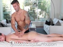 Caleb Troy Massaged And Fucked By Kevin Summers