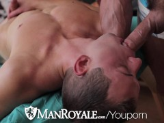 ManRoyale - Presley Wright Gets a Face Full of Cum from Underwear Sniffer