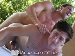 GayRoom - Logan Taylor Fucked by Hunk Zaq Wolfe