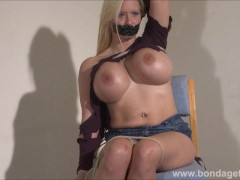 Tape gagged German fet... preview