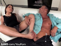 FootsieBabes Valentina Nappi Anal Footworship