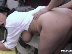 Posh Girl Emma Leigh Takes a Big Cock