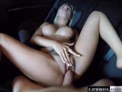 Teen Marsha May fucks her driver facial cumshot