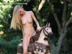 Ride a pony