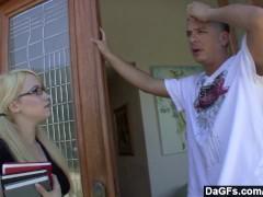 Dagfs - Slutty Ranie sucks and fucks her best friend s brother