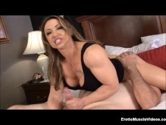EroticMuscleVideos BrandiMae Dominates And Pegs Dirty Old Man