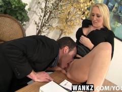 WANKZ- MILF Boss Alana Evans Bent Over The Desk For A Savage Fucking