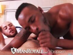 ManRoyale - Interracial cock sucking ass eaters