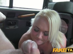 Fake Taxi Bubbly blonde sucks dick in taxi.mov