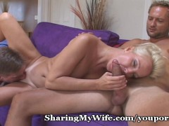 Sharing My Hot Wife With A Friend