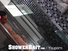 ShowerBait - Straight guy fucked in shower by gay friend