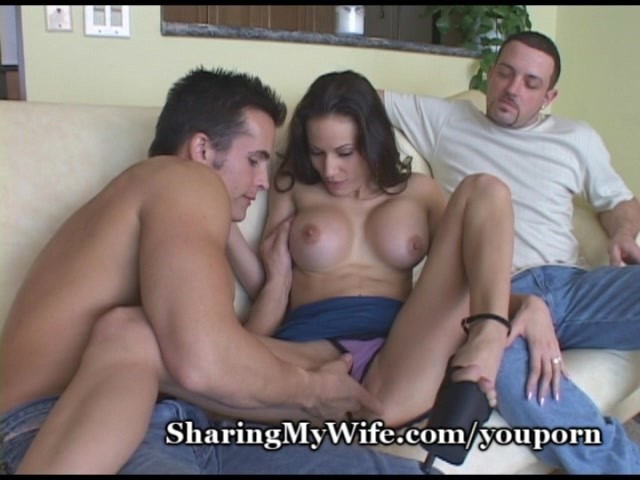 image Brunette hotwife fucks her black lover