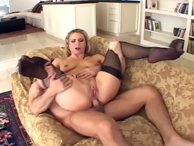 Harmony Has Anal Sex In Stockings And A Garter - Free Porn Videos - Youporn-7836