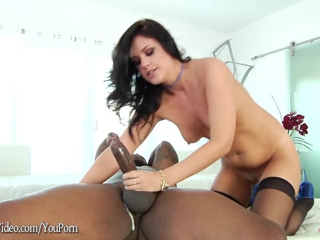 Roxy Raye Gets Hard Interracial Pounding