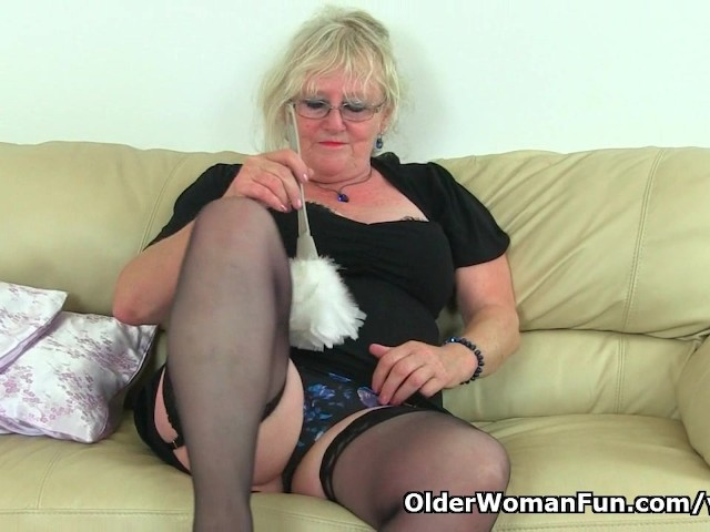 Claire knight squirting on the sofa 10