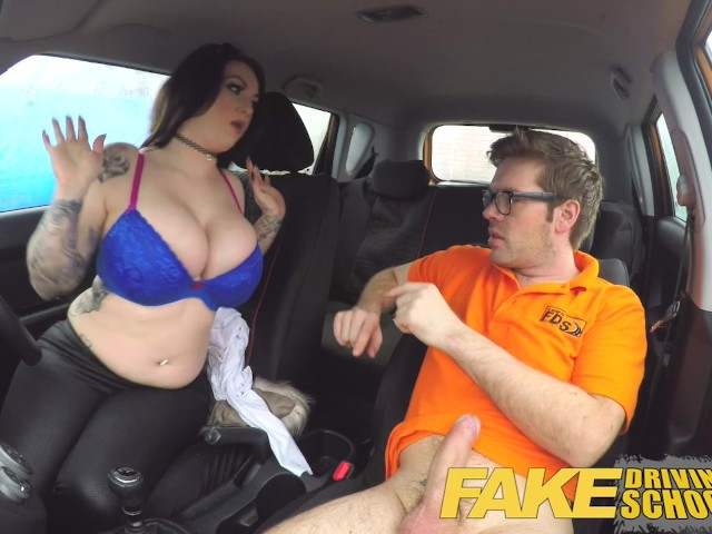 fake driving school porn