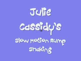Julie's slow motion booty shake