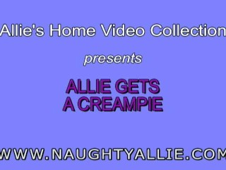 allie creampie