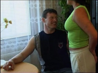 mature woman with big tits has good sex