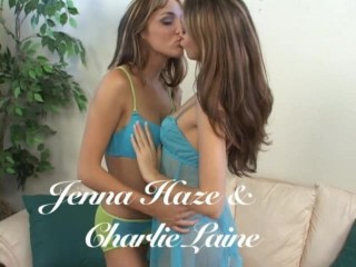 Jenna Haze and Charlie Laine - Anal Strapon