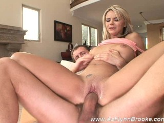 Ashlynn Brooke Takes A Shot To The Face