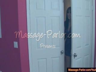 Jayden gives happy ending massage