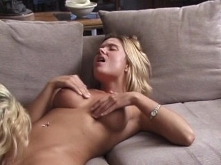 Two blondes get fucked hard