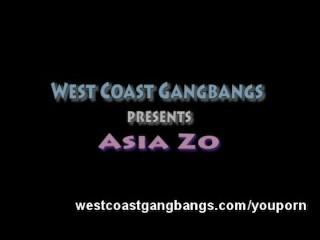 Asia Zo Asian Amateur Gangbang