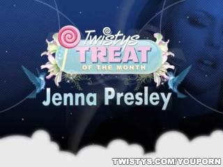 Jenna Presley Rubbing on her Clit