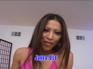 Jayna's long fingers sub for cock and dildo