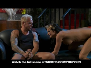 Alektra Blue Gets Wrecked Hard On Couch