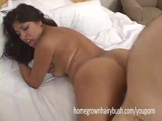 Laurie Vargas Offers Up Her Tight Hairy Pussy