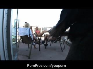 Porn Pros Skyline Facial