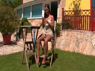 Hot euro chick having a good time - FBA Production