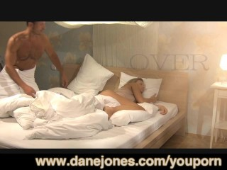 DaneJones Two cumshots for hot young blonde